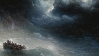 """""""The Wrath Of The Seas"""" by Ivan Aivazovsky"""